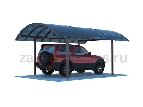 Навес для автомобиля для дачи или частного дома