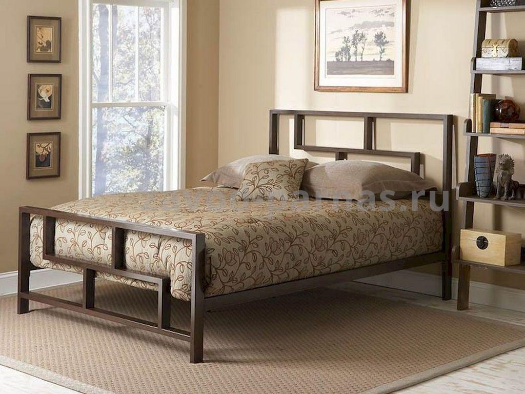 Кроватка в лофт стиле из металла и дерева