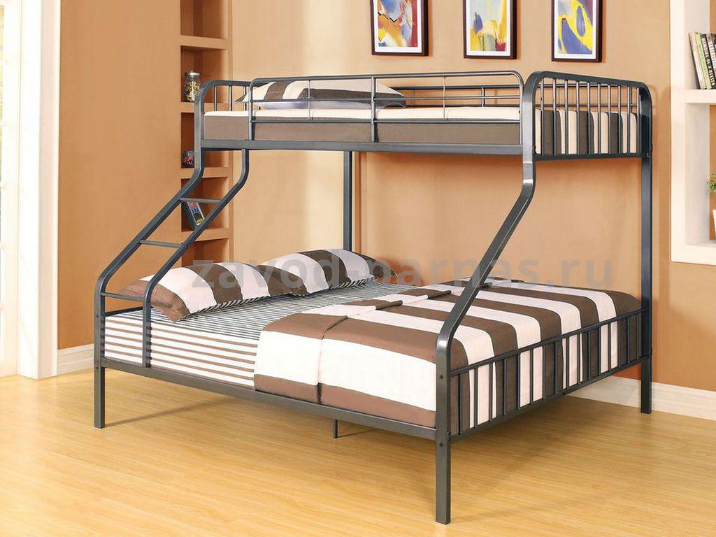 Кровать в стиле лофт металлическая
