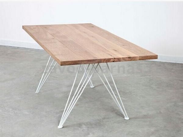 Журнальный стол в стиле лофт металл плюс дерево