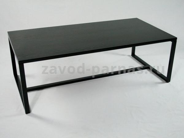 Журнальный стол в лофт стиле из дерева и металла