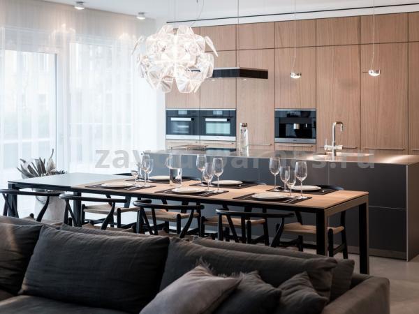Кухонный стол в стиле лофт металл плюс дерево