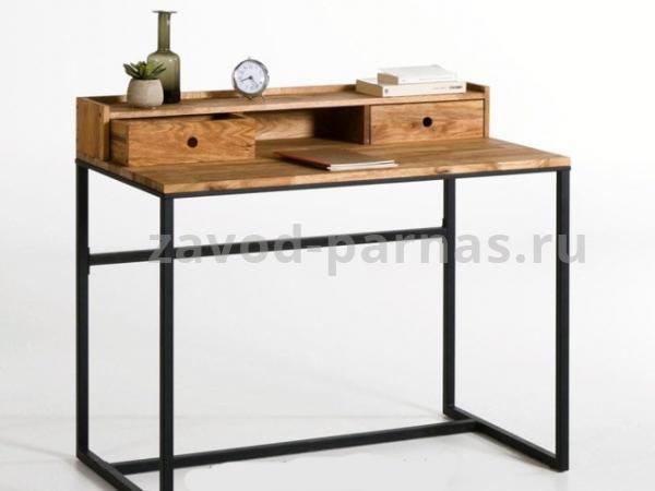 Письменный стол лофт дерево и металл