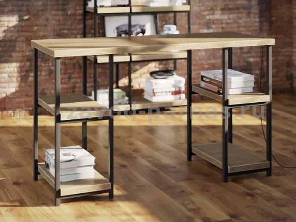 Письменный столик лофт металл плюс дерево