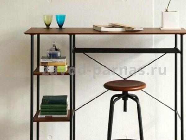 Письменный столик в лофт стиле дерево и металл