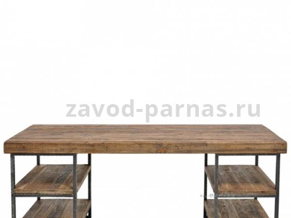 Письменный стол в лофт стиле дерево и металл